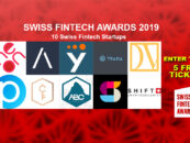Who Will Win the Swiss Fintech Startup Award 2019? – 5 Free Tickets for our Readers