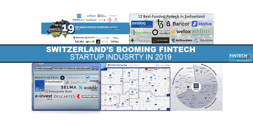 Switzerland's Booming Fintech Startup Industry in 2019