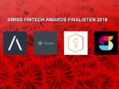 Swiss FinTech Awards 2019: Die 4 Finalisten stehen fest
