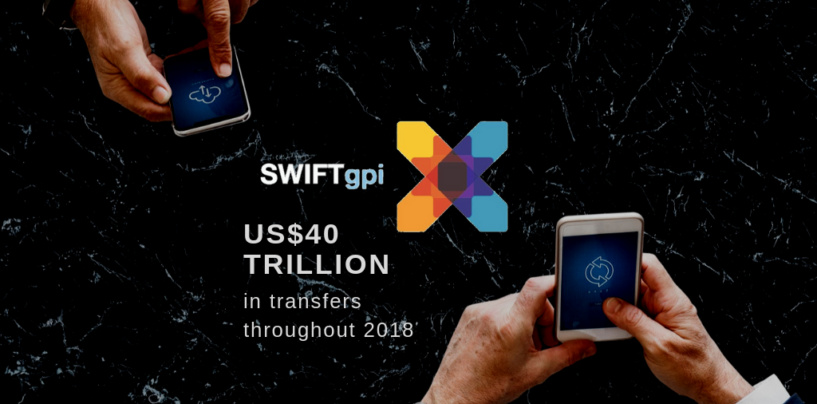 With US$40 Trillion Transfers in 2018, SWIFT Gpi is Working on New Features