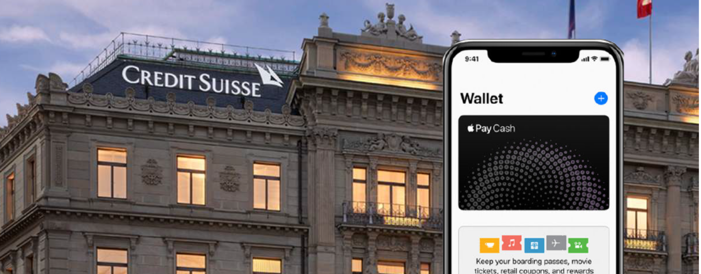 Credit Suisse to Begin Apple Pay Support this Month