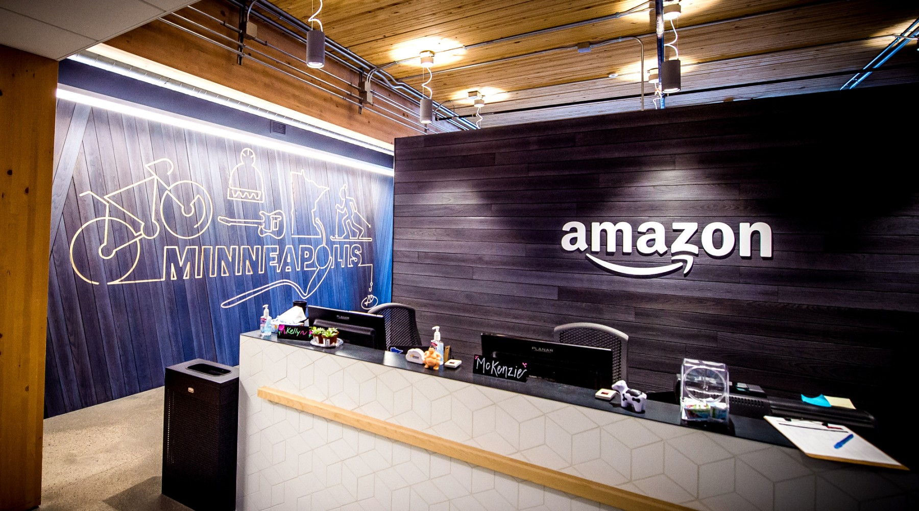 Amazon office in Minneapolis, via blog.aboutamazon.com
