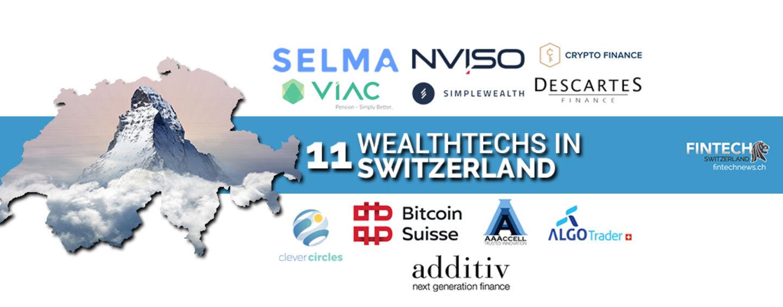 Top 11 Wealthtech Companies in Switzerland