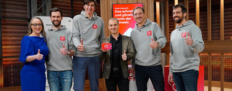 Gut Gebrüllt neon – Gleich 4 Löwen Investieren in die Schweizer Konto-App
