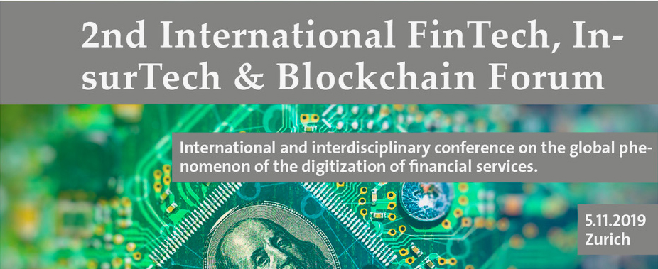 2nd International FinTech, InsurTech & Blockchain Forum