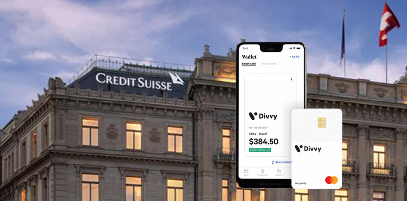 Divvy Expense Management Tools and Credit Suisse Close $500M Purchase Agreement