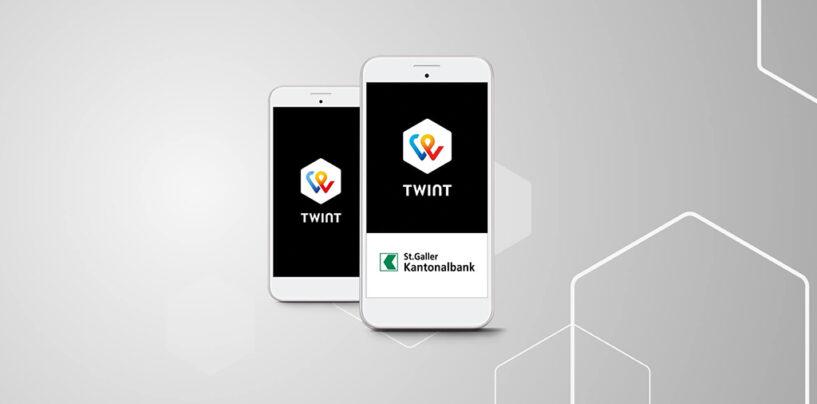 Jetzt auch bei der St. Galler Kantonalbank TWINT ans Bankkonto anschliessen