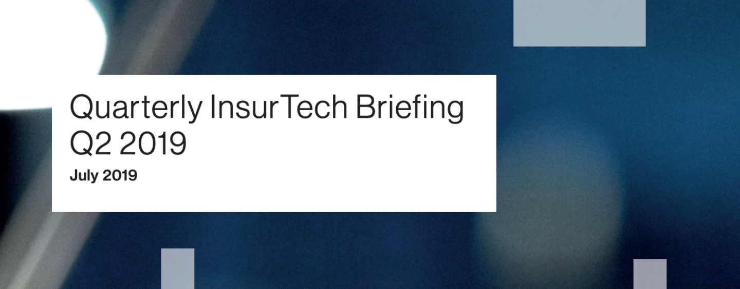 Insurtech Companies Raised US$1.41B in 2019