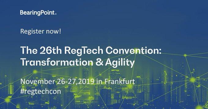 Regtech Convention Frankfurt Germany