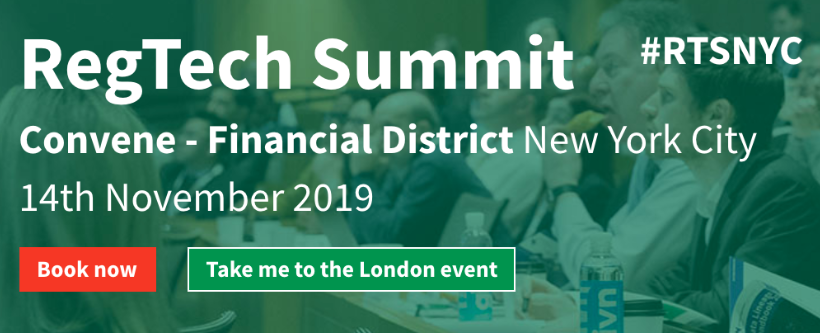 Regtech Summit New York 2019