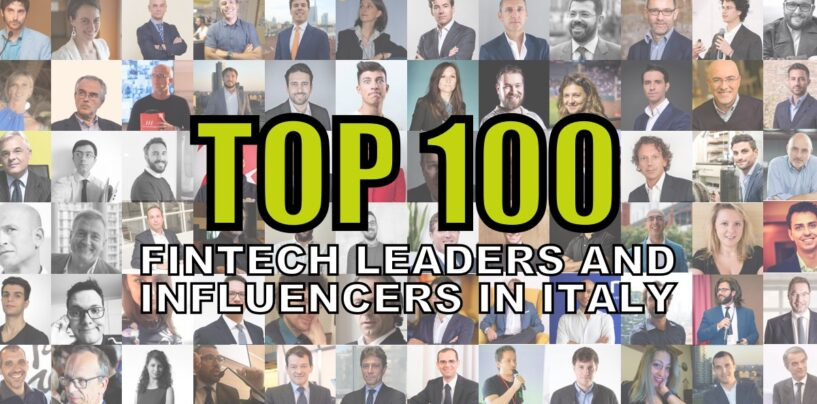 Top 100 Fintech Leaders and Influencers in Italy