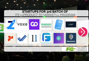 Meet the new 13 Fintech Startups of the F10 Accelerator Program 2019 in Zurich