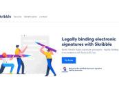 ZKB Investiert in E-Signing Startup Skribble