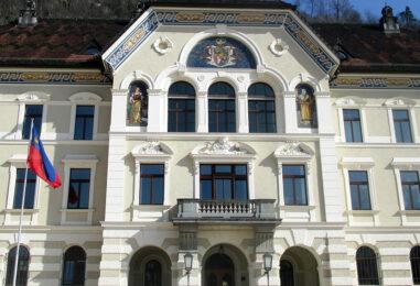 Liechtensteinischer Landtag stimmt dem Blockchain-Gesetz einstimmig zu