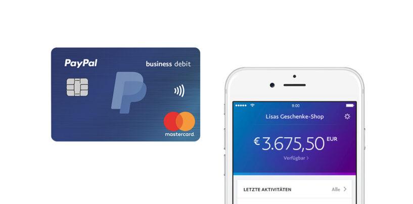Disruption: PayPal Business Debit Mastercard für Geschäftskunden kommt