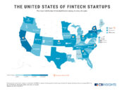 Top-Funded US Fintech Startups 2019 by State