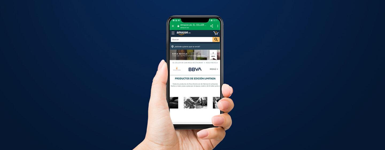 BBVA Launches Product Sales on Amazon