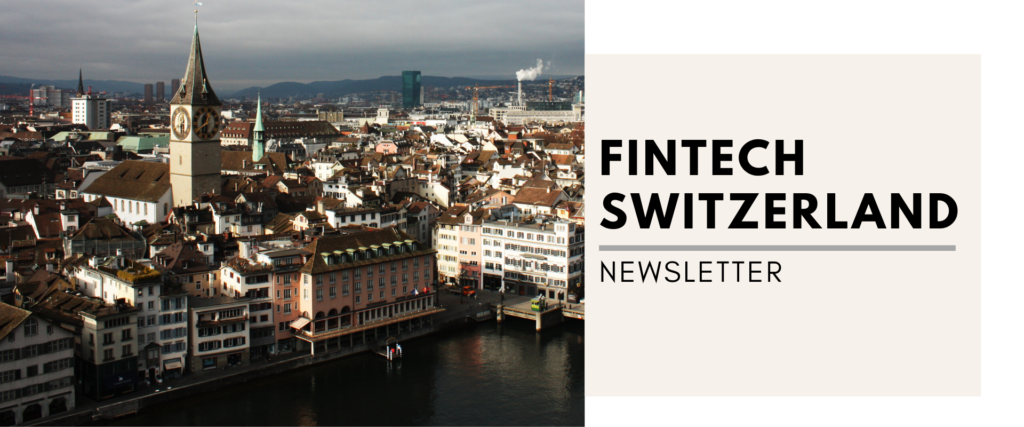 fintech switzerland newsletter