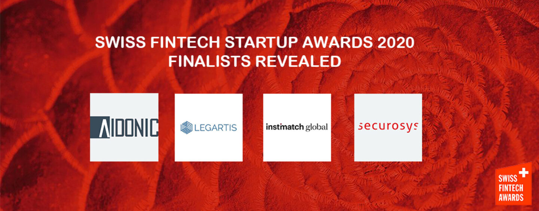 Swiss Fintech Startup Awards 2020 Finalists Revealed