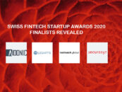Swiss Fintech Startup Awards 2020 Finalists Revealed