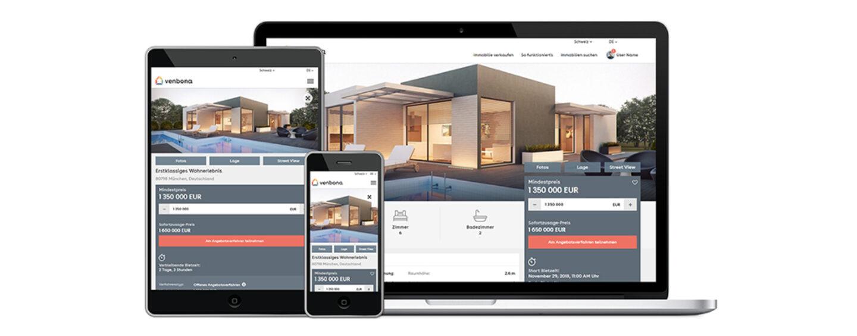 Venbona erweitert sein Angebot für Immobilienmakler