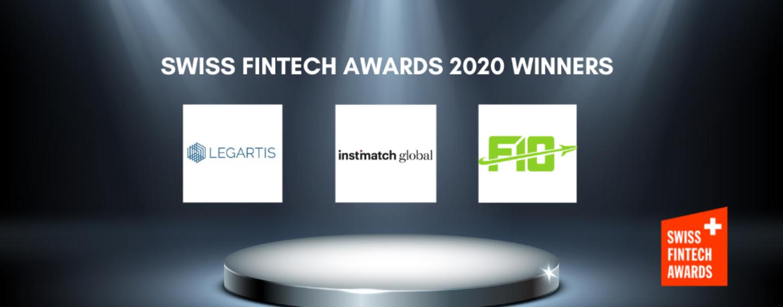 The Swiss FinTech Awards 2020 Winners