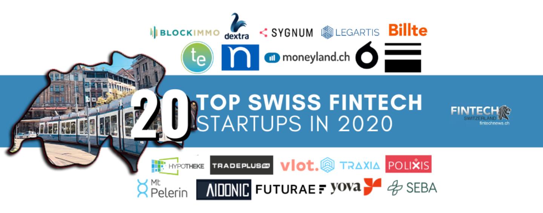 Fintech News Network Unveils 2020's Top 20 Swiss Fintech Startups