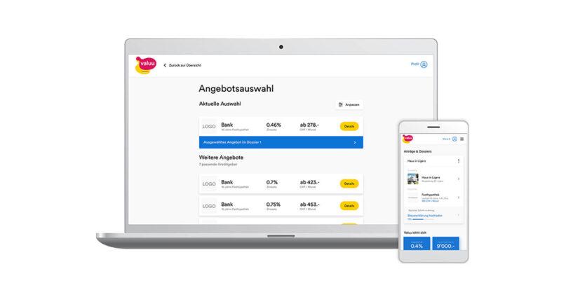 Hypotheken Vergleichen in der Schweiz mit Valuu