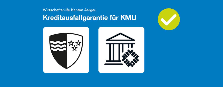 Covid19-Unterstützung: Kreditausfalls-Garantien für KMU's im Kanton Aargau