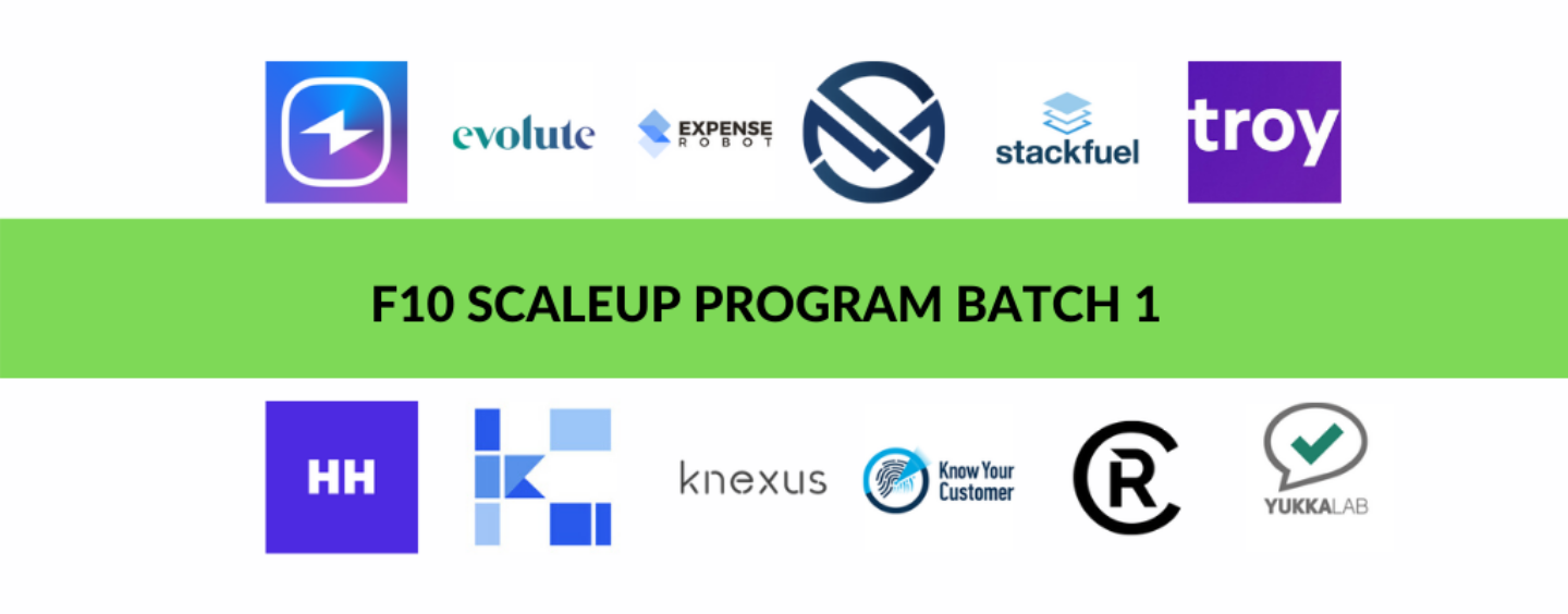 F10 Scaleup Program – 12 Fintech Startups Selected for Batch 1 in Switzerland