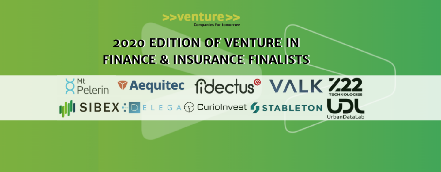 >>venture>> Unveils 2020 Swiss Fintech and Insurtech Winners