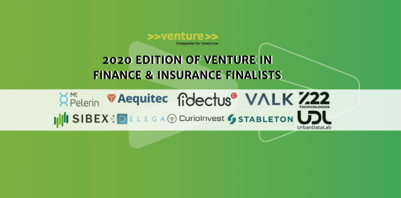 >>venture>> Unveils 2020 Swiss Fintech and Insurtech Finalists