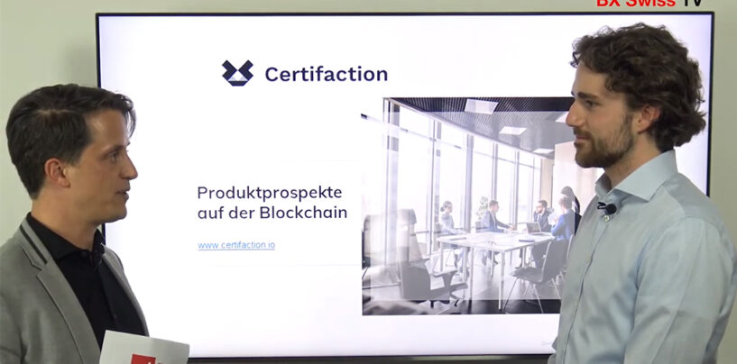 BX Swiss Uses Blockchain to Protect Approved Securities Prospectuses Against Falsification
