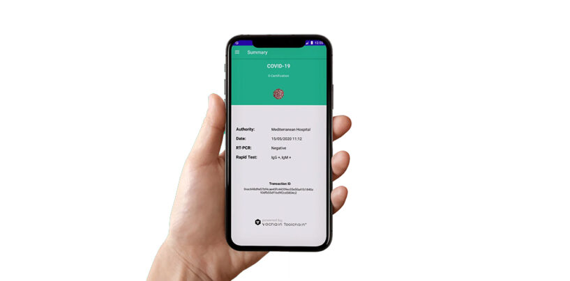 A Blockchain-Based COVID-19 Records App for Cyprus