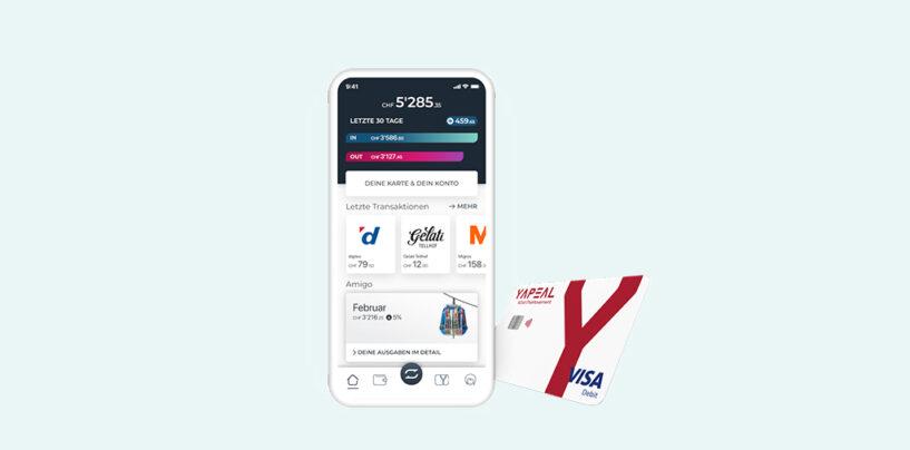 Yapeal ist Live und lanciert erste Visa Debit-Karte der Schweiz