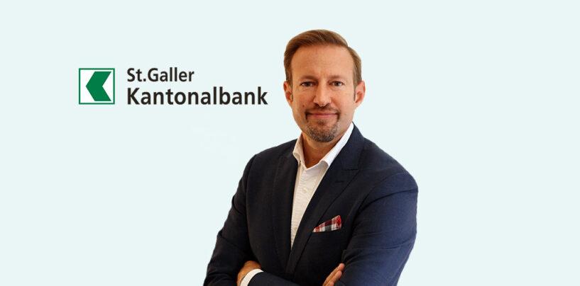 Bekannter Fintech First Mover wird Digital Banking Chef der St.Galler Kantonalbank