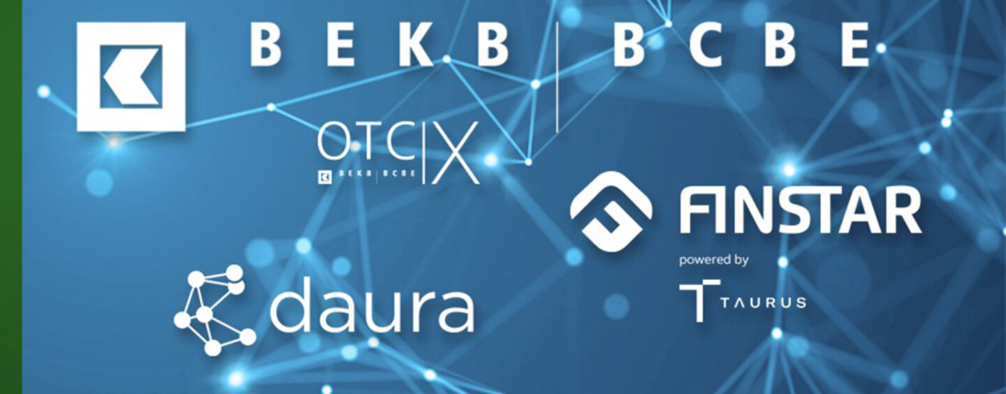 BEKB Is Creating an Ecosystem for Tokenised Assets