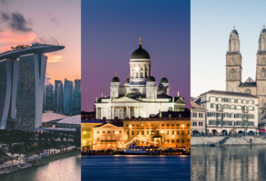 Singapore, Helsinki and Zurich Named World's Smartest Cities