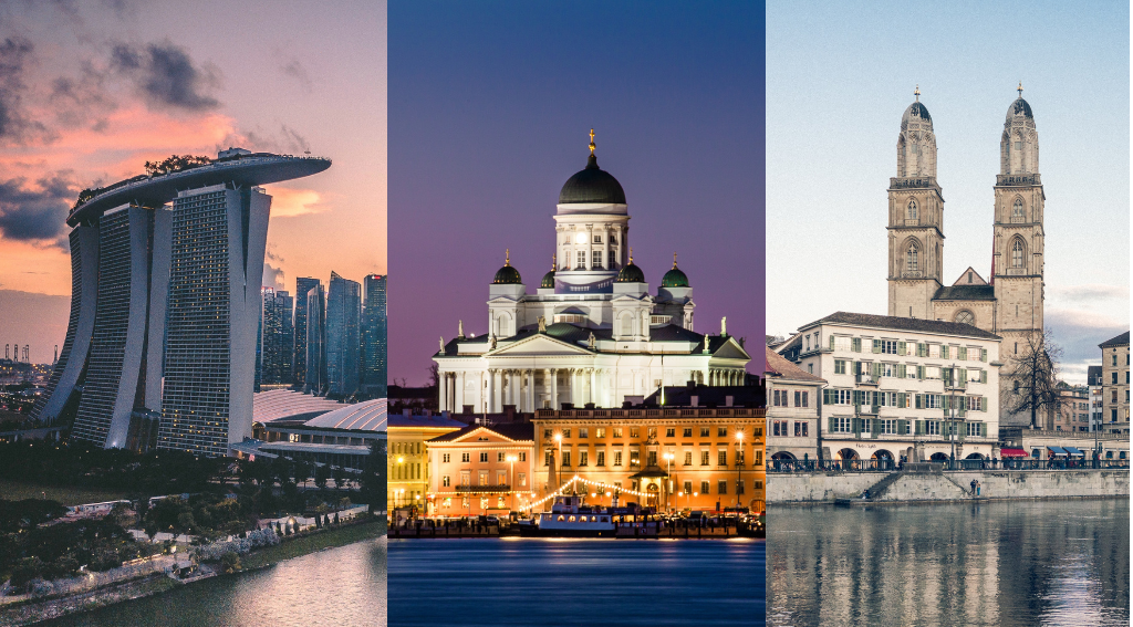 Singapore, Helsinki and Zurich Named World's Smartest Cities | Fintech  Schweiz Digital Finance News – FintechNewsCH