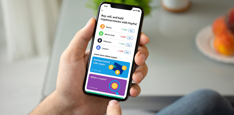 PayPal Dips Its Toes in the Crypto Market…. in 2021