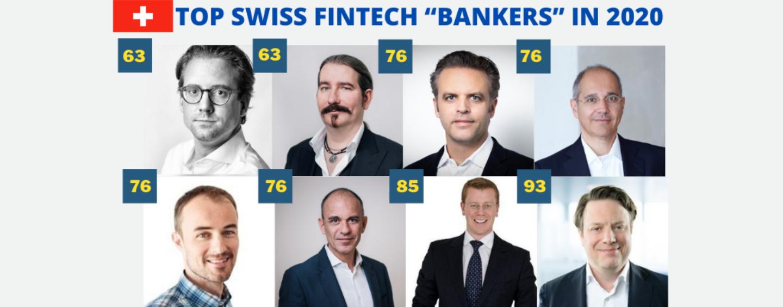 "Top 8 Swiss Fintech ""Bankers"" in 2020 – Bilanz Ranking"