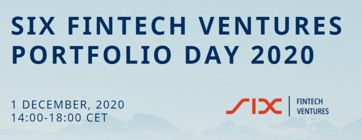 SIX FinTech Ventures Portfolio Day 2020