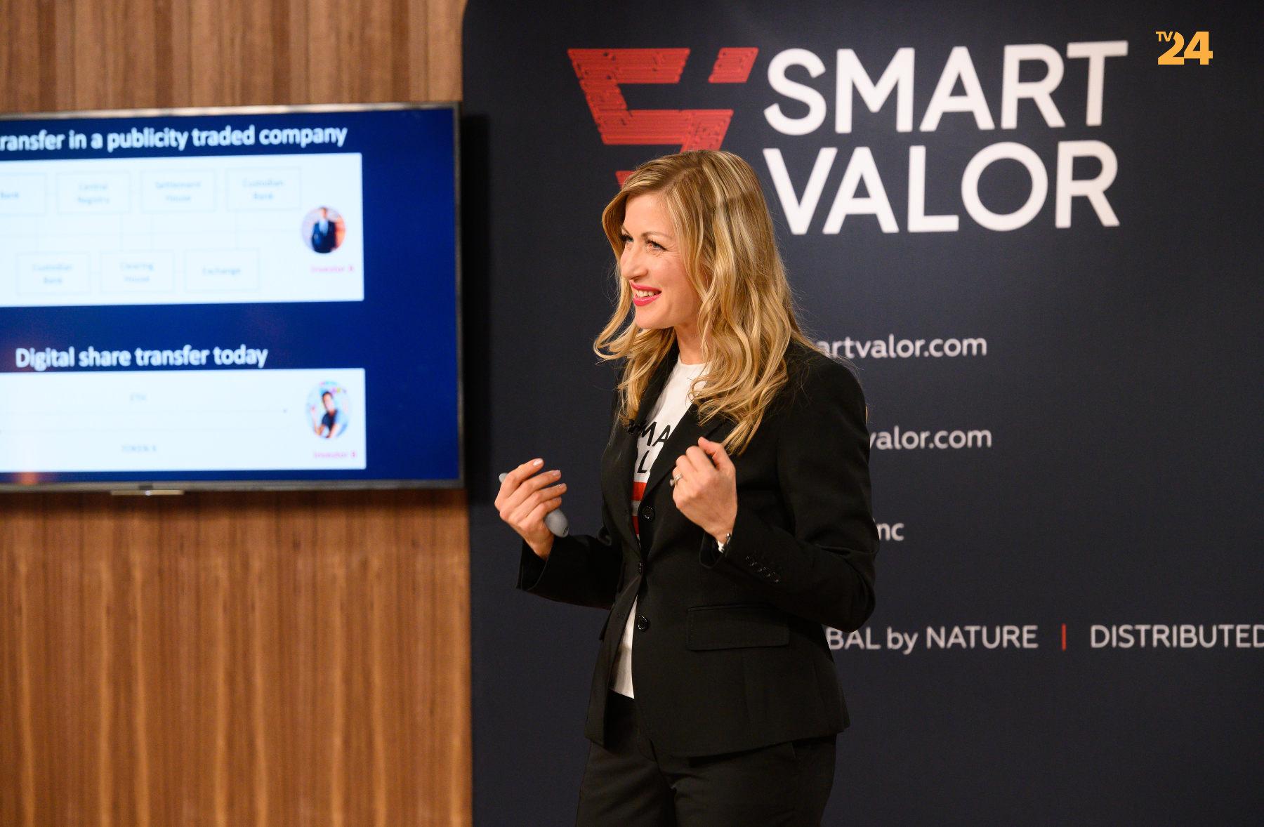 SMART VALOR CEO Olga Feldmeier