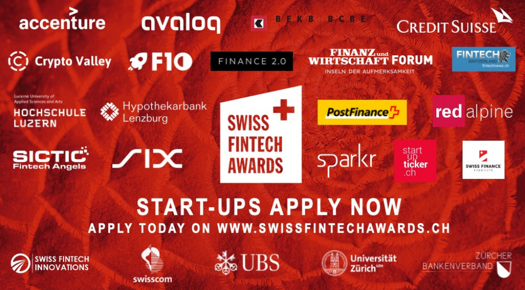 Swiss FinTech Awards 2021 Is Now Open for Applications ...