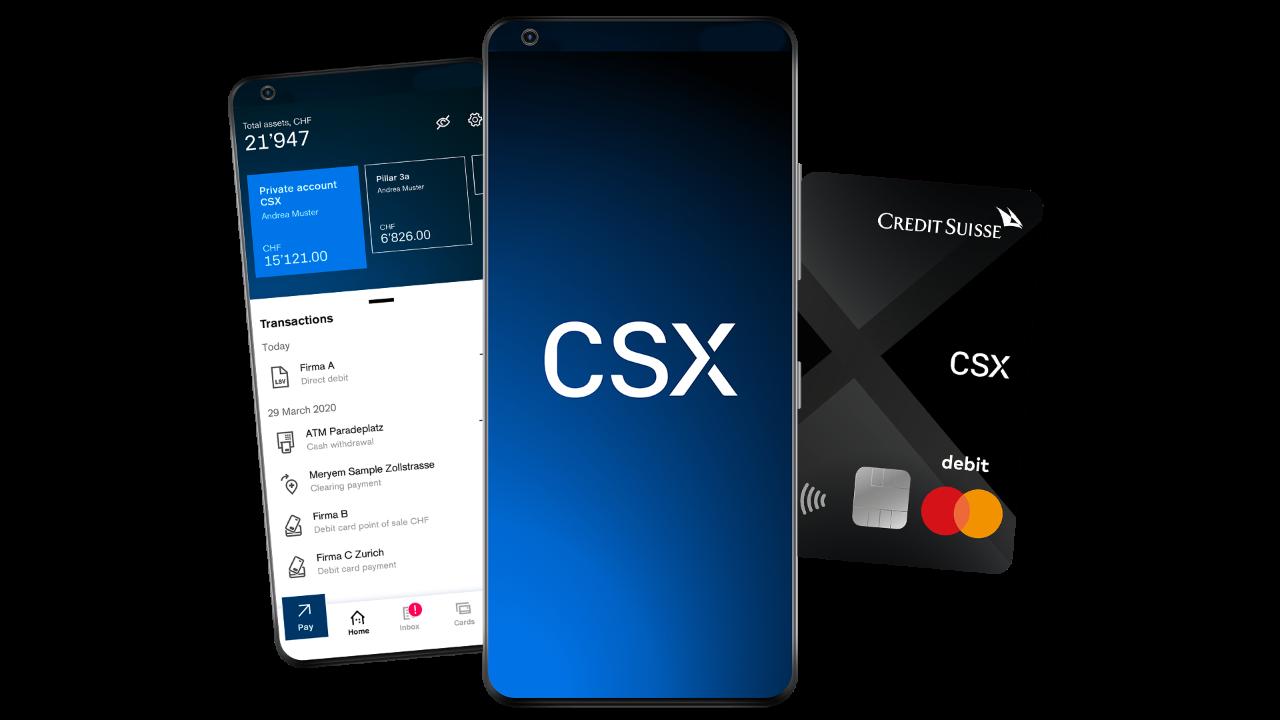 Credit Suisse's CSX digital offering, via credit-suisse.com