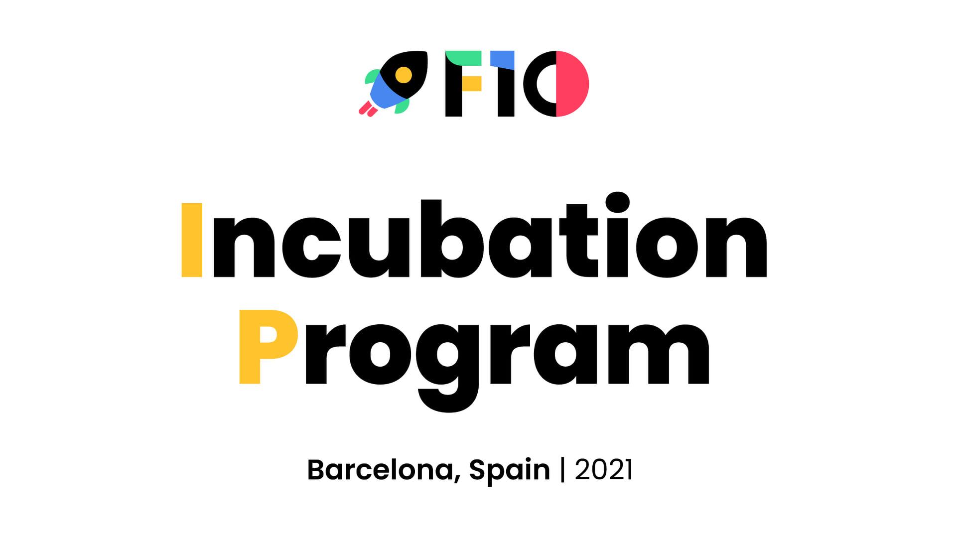 F10 Barcelona Incubator Program, via F10accelerator, Facebook