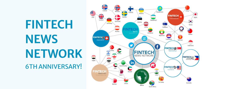 Fintech News Network Celebrates Its 6th Birthday