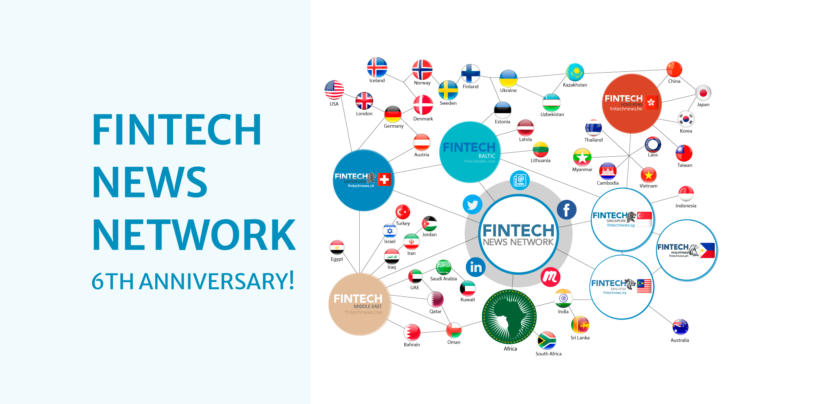 Fintech News Network Celebrates Its 6th Birthday