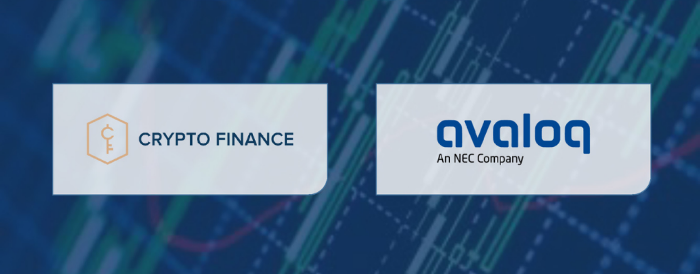 Crypto Finance Launches Blockchain Trading Solution for Avaloq's Banking Clients