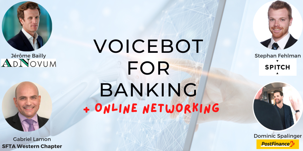 VoiceBot for Banking- How can AI improve your customer experience + Online Networking